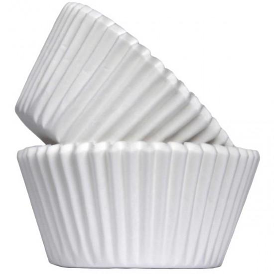 Muffin Paper Cases White x500
