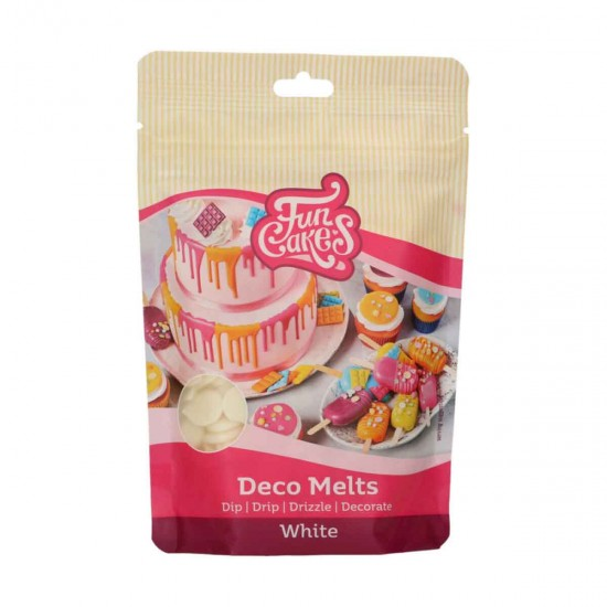 Deco Melts White 250g