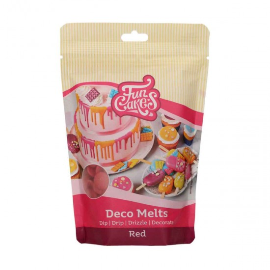Deco Melts Red 250g