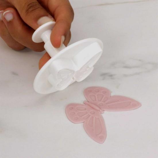 Pretty Butterfly Plunger Cutter Set x3