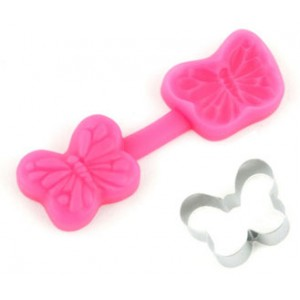 Butterfly Cutter and Mould Set