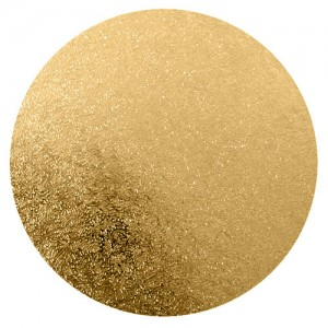 Cake Board 4mm Christmas Gold Square 10-inch