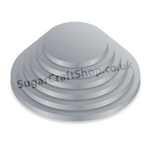 Drum Round 12-inch Silver