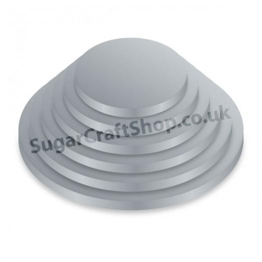 Drum Round 11-inch Silver