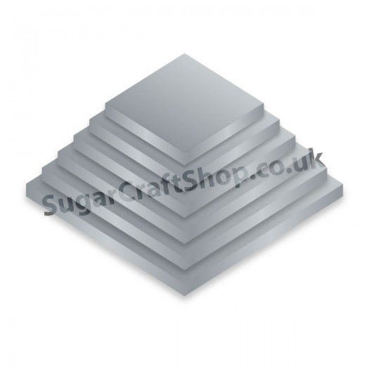 Drum Square 06-inch Silver