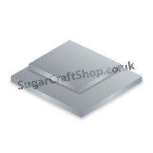 Drum Rectangle 10x12-inch Silver