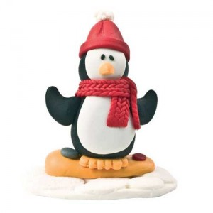 Claydough Christmas Penguin
