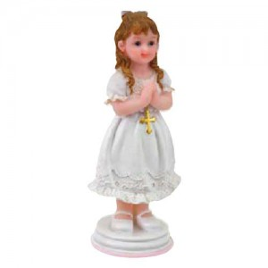 Topper Praying Girl Standing 10cm
