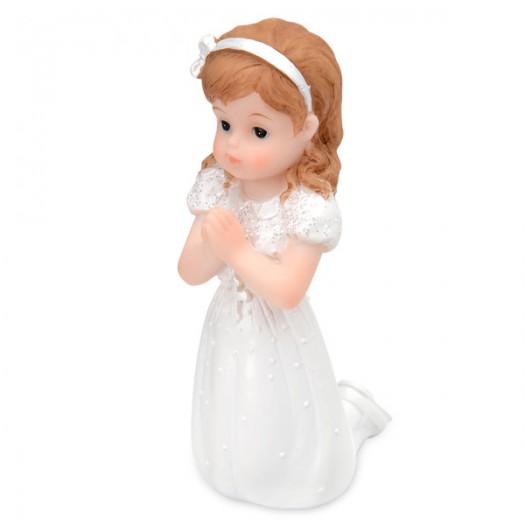 Topper Praying Girl Kneeling 10cm