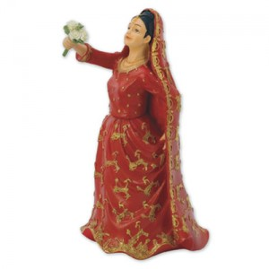Asian Bride Cake Topper - 15cm