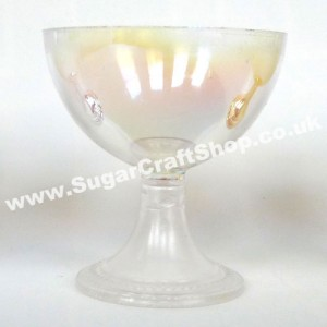 Chalice/Goblet Plastic - Iridescent 6cm Tall