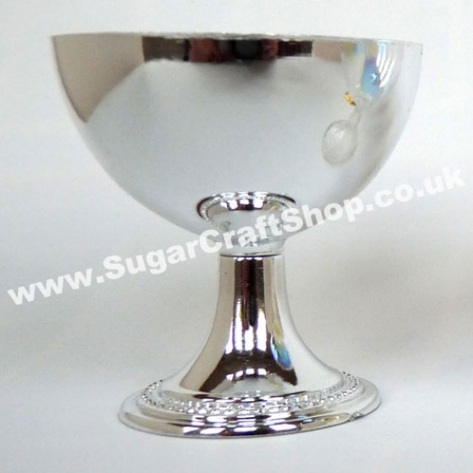 Chalice/Goblet Plastic - Silver 6cm Tall