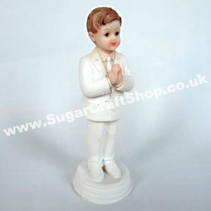Praying Boy Standing 12cm