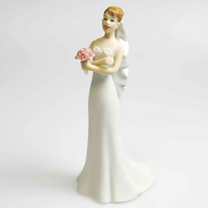 Exasperated Bride Cake Topper 140mm
