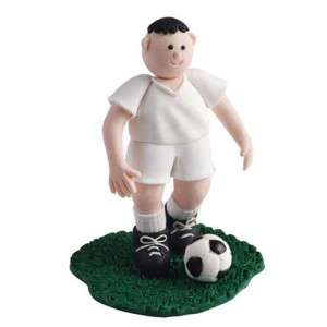 Claydough Footballer White