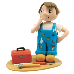 Claydough DIY Man