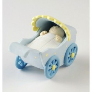 Claydough Pram Blue