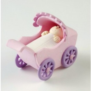 Claydough Pram Pink