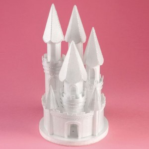 Styrofoam Castle - 175mm x 330mm