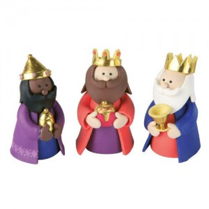 Claydough 3 Kings / Magi / Wise Men
