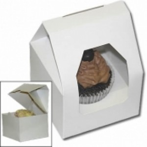 Cupcake Box (holds 1) with insert