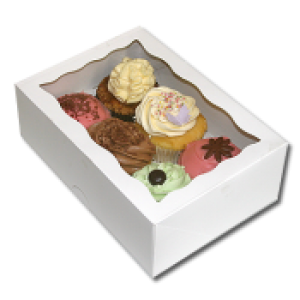 Cupcake Box (holds 6) with insert