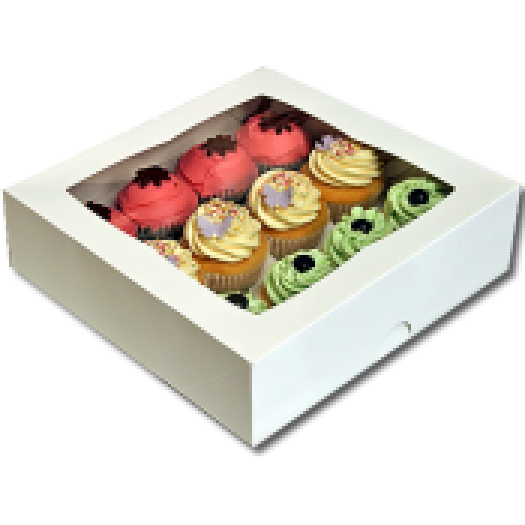 Cupcake Box (holds 12) with insert