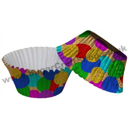 Muffin Cupcake Cases Foil 50 - Smarties
