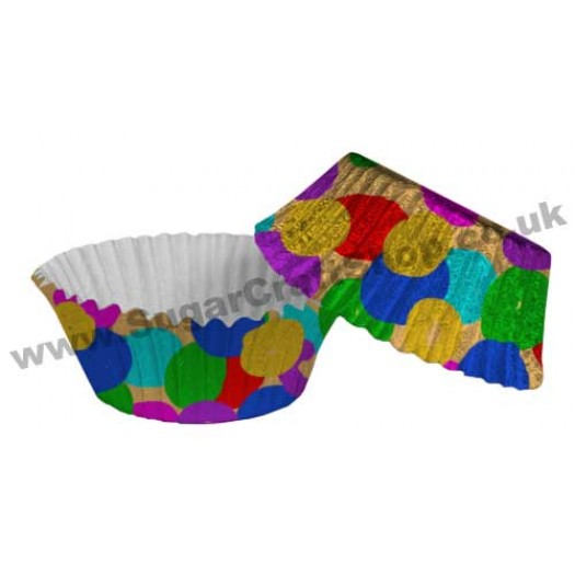 Fairy Cake Cases Foil 50 -  Smarties
