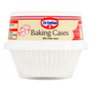 Dr Oetker 100 Baking Cases