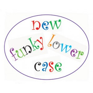 Funky Alphabet Cutter Set Lower Case - FMM