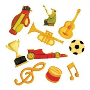 Music & Sport Cutter Set - FMM