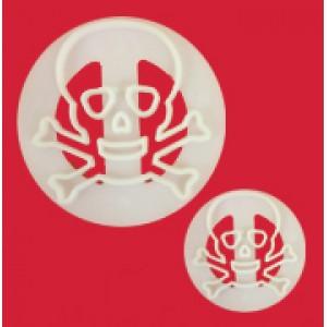 Skull and Crossbones Cutter Set FMM