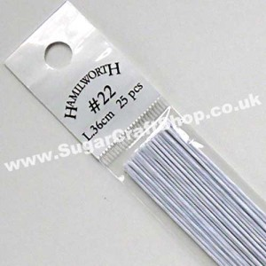 Wire White 22 Gauge - 25 piece