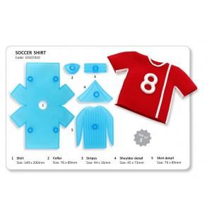 Soccer Shirt Cutter Set of 5