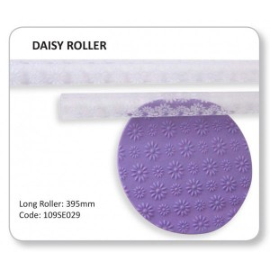 Embossed Daisy Roller 395x20mm