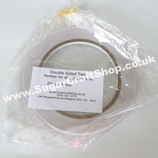 Double Sided Tape - 20metres x 5mm