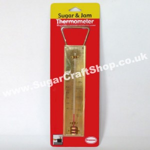Thermometer in Brass for Sugar and Jam