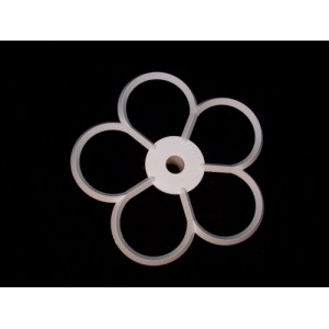 5-Petal Flower Cutter 110mm - Orchard Products F6C