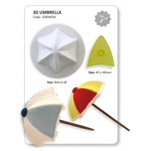 3-D Umbrella Set of 2 (includes former)