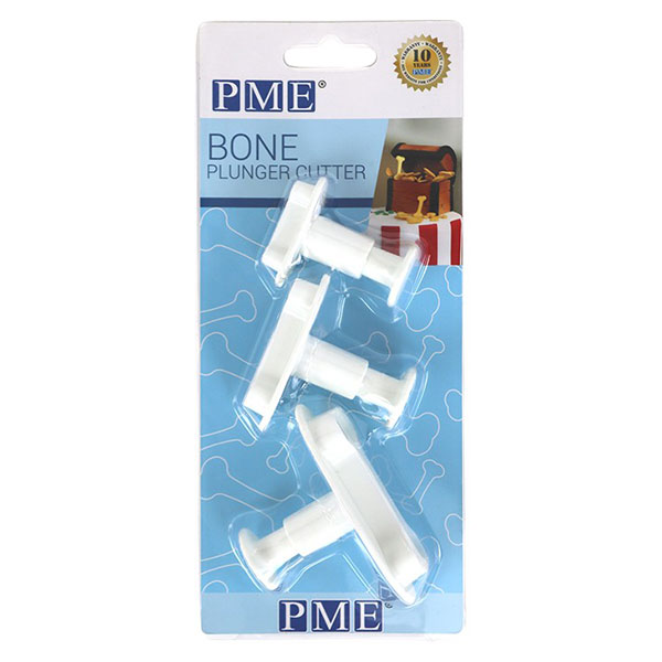 Plunger Cutters Bones set of 3 By PME