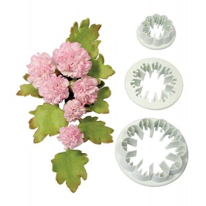 Carnation Cutter Set of 3