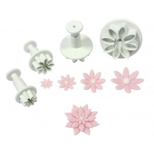 Daisy/Marguerite Plunger Cutter (Set of 4)