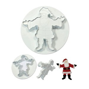 Father Christmas Cutter Set of 2