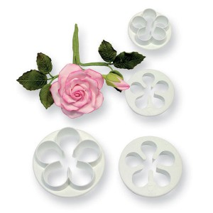 5 Petal Cutter Set of 4, Small, Medium, Large, Extra Large