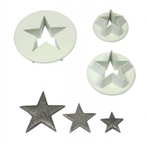 Star Cutters Set of 3