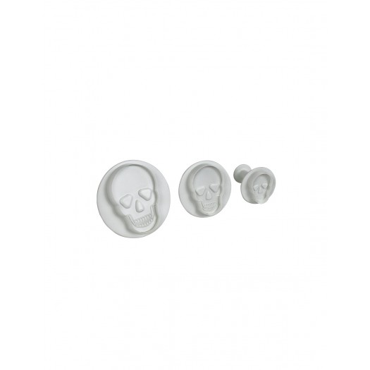 Plunger Cutters Skulls set of 3 By PME