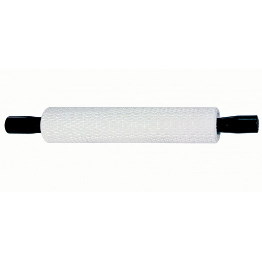 Fine Basketweave 10-inch Rolling Pin with handles