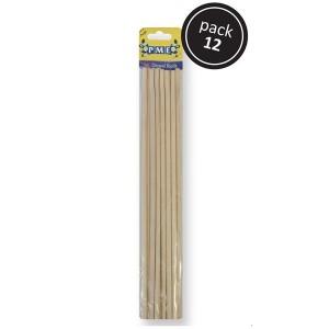 Dowel - Bamboo 12 pack 30cm / 6mm