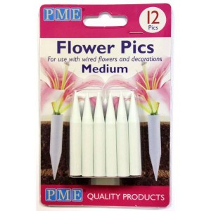 Flower Pics Medium 12 Pack